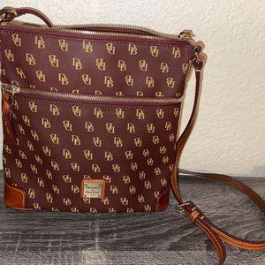 Dooney & Bourke Gretta Crossbody Purse Handbag And Matching Wallet for Sale in Mansfield, TX