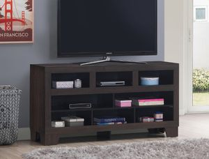 "Brand new 59"" x 30""H brown TV stand for Sale in San Diego, CA"