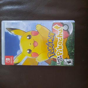 Nintendo Switch Pokemon Lets Go Pikachu for Sale in Fort Lauderdale, FL