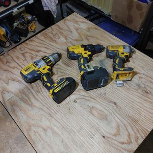 Dewalt Combo Drill, Hammer Drill And Impact for Sale in Carbonado, WA