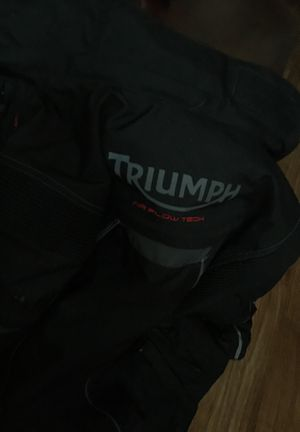 Triumph Motorcycle Jaket for Sale in Columbus, OH