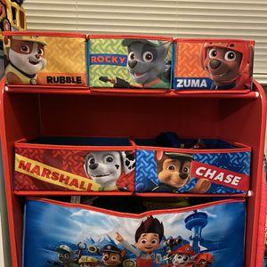 Paw Patrol Toy Storage for Sale in Virginia Beach, VA