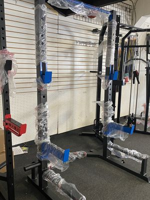 Squat Rack (Brand New) no weights included for Sale in Whittier, CA