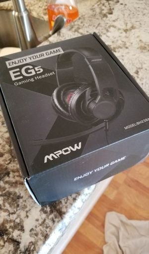 MPOW EG 5 GAMING HEADPHONES for Sale in Fort Lauderdale, FL