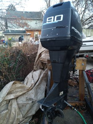 Mercury force 90hp outboard motor for Sale in Riverdale, MD