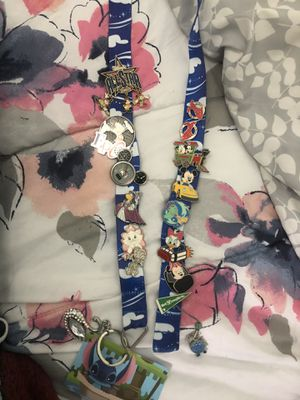 Disney pin lanyard for Sale in Arlington, TX