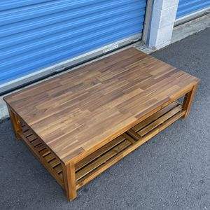 Light Brown Coffee Table ☝️the First Person Give $50 Now for Sale in Santa Ana, CA