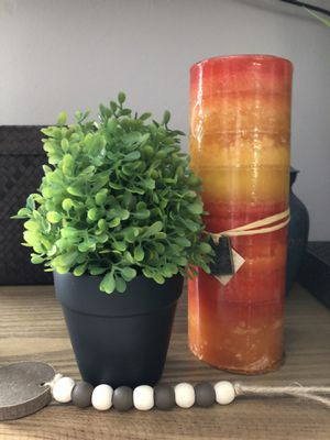 Farmhouse Rustic Ceramic Potted Boxwood Faux Plant for Sale in MENTOR ON THE, OH