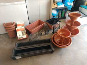 Plants, planters, and plant stuff, oh my. for Sale in Sandy, UT