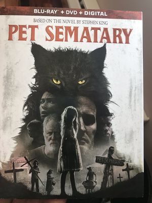 Pet sematary Blu-ray Disney Marvel DC Harry Potter The Star Wars movies Bluray 3D and dvd collectibles New collectors for Sale in Everett, WA