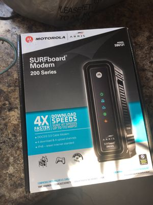 Arris modem for Sale in Elmwood Park, IL