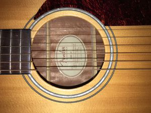 Fender acoustic guitar for Sale in Moreno Valley, CA