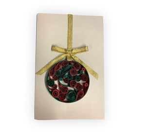 Handmade Quilling Christmas Card Charm for Sale in Norfolk, VA