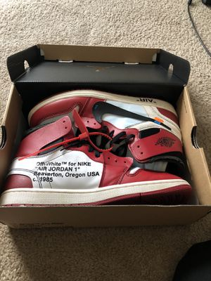 "Off white Jordan 1 ""Chicago"" for Sale in College Park, GA"