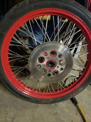 Spoke motorcycle rims for Sale in Smithsburg, MD