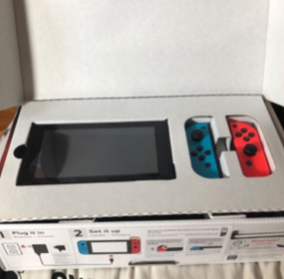 Nintendo switch, console and games in pristine shape . Call or text my num3469171826ber for swift response.