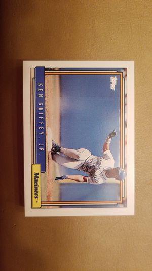 1992 Ken Griffey jr. Topps baseball cards for Sale in Millersville, MD
