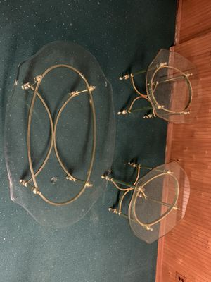 Glass table set for Sale in Imperial, MO
