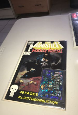 The Punisher(Summer Edition) Comic comes wth a Collectible Card of The punisher for Sale in Los Angeles, CA