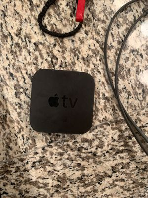 Apple TV 3rd gen $45 comes with cords for Sale in Irving, TX