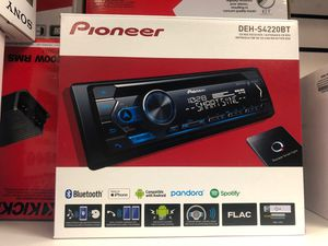PIONEER DEH-S4220 BT STEREO BLUETOOTH AUDIO for Sale in Chula Vista, CA