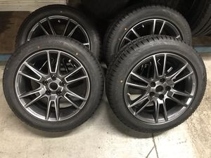 Nissan rims and tires 5x114 for Sale in Miramar, FL