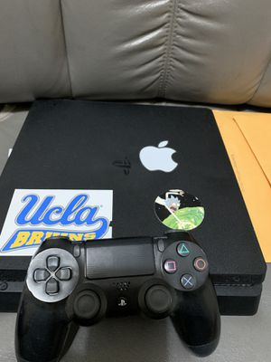 PS4 Slim with Controller and all Cables with NBA2K Game for Sale in Victorville, CA