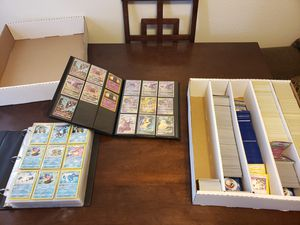 Pokemon binders and bulk for Sale in West Valley City, UT