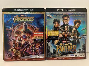 Disney/Marvel 4K ULTRA HD $10.00 for Sale in Covina, CA