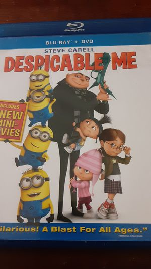 Despicable me dvd for Sale in Grand Saline, TX