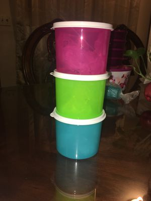 Mini Storage containers Tupperware for Sale in Hanford, CA