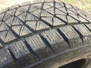 Bridgestone Blizzak snow tires 225/615 R17 for Sale in Traverse City, MI