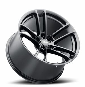 """20"""" 20x9 20x11 Staggered Black Hell Cat Wide Body Style Wheels Rims 315/35-20 Tires Available FINANCING Dodge Charger Challenger SRT HEMI Skat Pack for Sale in Bellflower, CA"""