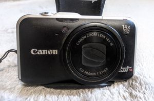 Canon PowerShot SX230 HS 12.1MP CMOS Digital Camera with 14x Zoom w/1080p HD Video & GPS for Sale in North Highlands, CA