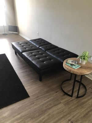 leather futon for Sale in Orlando, FL
