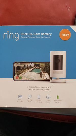 Ring Stick-up Camera Battery for Sale in Bakersfield, CA