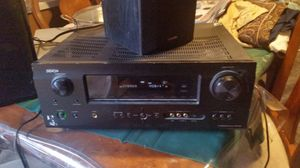 Demon AVR590 WITH POLK AUDIO MONITORS AND YAMAHA SUBWOOFER for Sale in Fresno, CA
