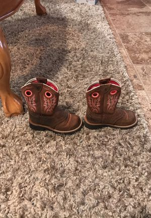 Ariat girl boots for Sale in Oneonta, AL