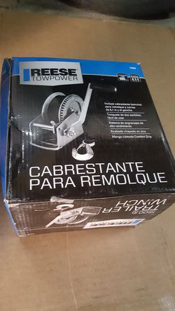 Reese Towpower Trailer Winch for Sale in Chicago,  IL