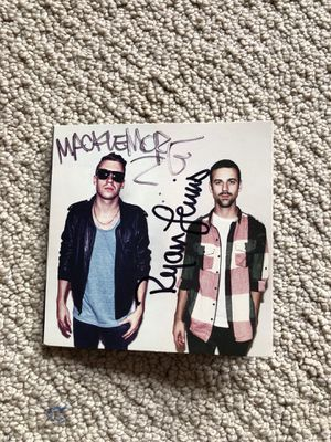 Autographed Macklemore and Ryan Lewis The VS. Re-Release Album for Sale in Seattle, WA