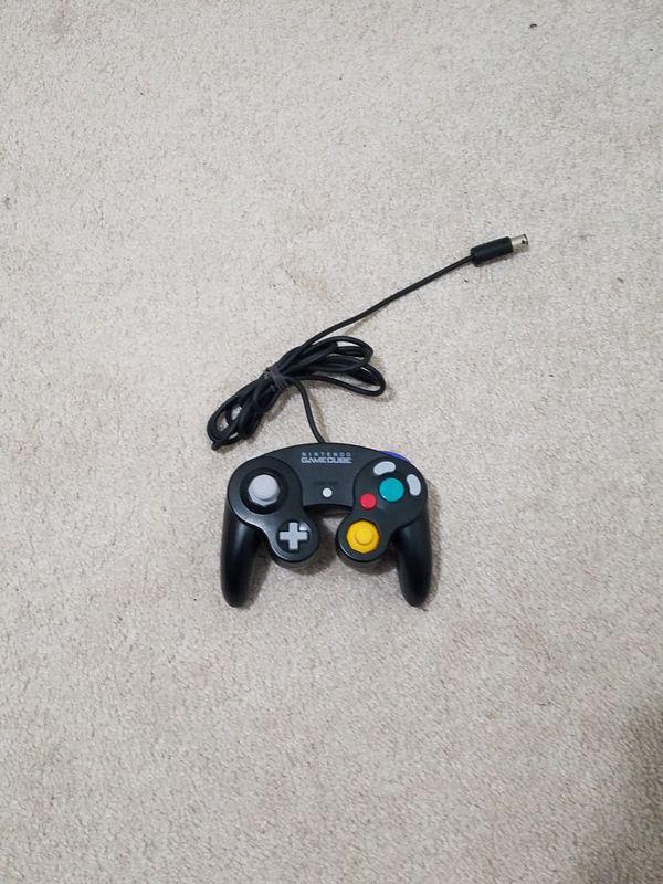 Black Gamecube Controller