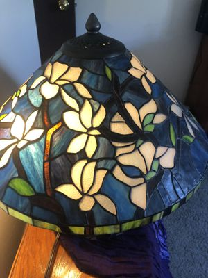Beautiful stained glass lamp for Sale in Portland, OR
