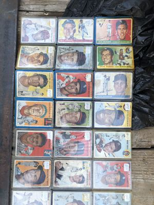 50's baseball cards for Sale in San Angelo, TX