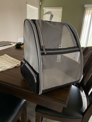 Brand new, never used, Small dog or cat carrier backpack for Sale in Chandler, AZ
