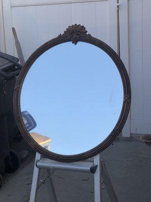 "Wooden frame mirror 26"" for Sale in Riverside, CA"