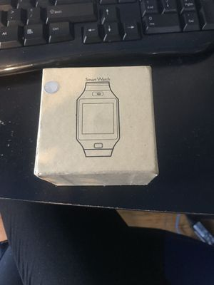 Bluetooth Smart Watch w/charger *NO SD CARD* for Sale in Muskego, WI