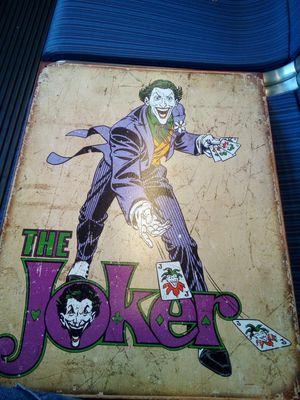Joker sign. for Sale in Pasadena, CA