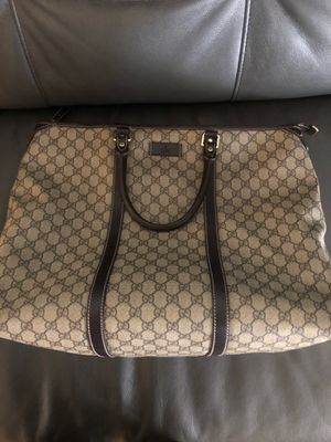 Large GUCCI tote. AUTHENTIC. for Sale in Federal Way, WA