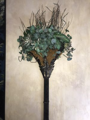 2 Decorative Metal Plant Holders for Sale in Atlanta, GA