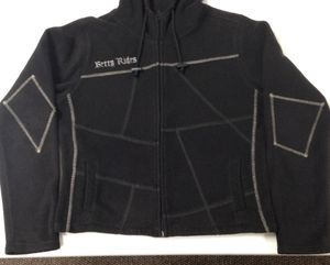 Sporty hoodie jacket~ size large but fits like a medium for Sale in Berea, OH
